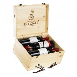 Cofanetto in legno 6 bottiglie - D53, Hortos