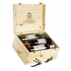 Cofanetto in legno 6 bottiglie - Filine, Icorè, Filieri Rosè